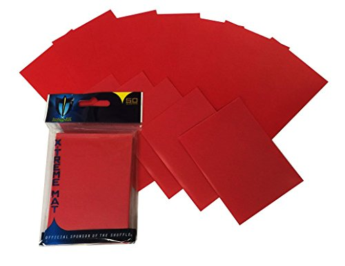 300 Premium Red Double Matte Deck Protector Sleeves for Gaming Cards like Magic The Gathering MTG, Pokemon, & More X-TREME by Max Pro
