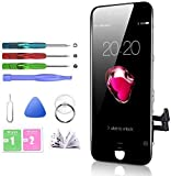 HTECHY Compatible with iPhone Screen Replacement Black - Compatible with iPhone...