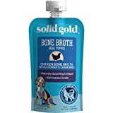 Solid Gold 60015 Chicken Bone Broth Lavender & Chamomile Dog Food Topper, 8