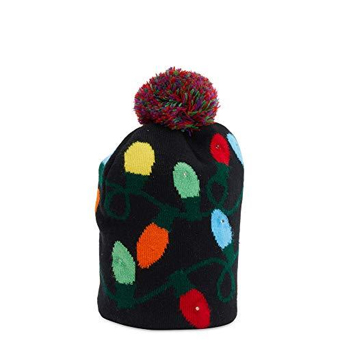 D-Mail Cappello Natalizio con LED - luci Natale