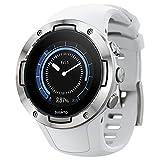 Suunto 5 Reloj Deportivo GPS Ligero y Compacto, Seguimiento 24/7 de Actividad física, Medición del Ritmo cardiaco en la muñeca, Unisex-Adulto, Blanco, Talla Única