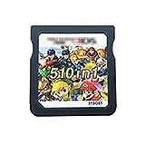 Pink Peach XUNYUAN 510 en 1 Tarjeta de Cartucho de Videojuegos de compilación Fit for Nintendo DS 3DS 2DS Super Combo Multi Cart YY (Color : 510in1 Without Box)