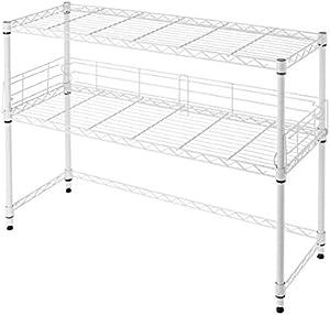 Suprima Desktop Carbon Steel Bookshelf - White