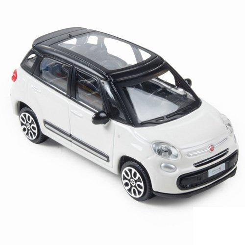 Bburago - 431822126 - Véhicule Miniature - Fiat - 500L - Échelle 1/24, Coloris aléatoire
