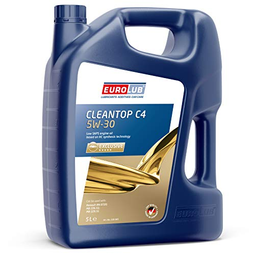 EUROLUB CLEANTOP C4 SAE 5W-30 Motoröl, 5 Liter