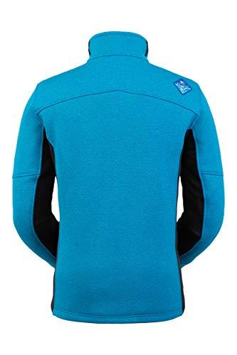 Spyder Herren Wengen Encore Fleece Jacke - Full Zip Sweater, X-Large, Lagoon