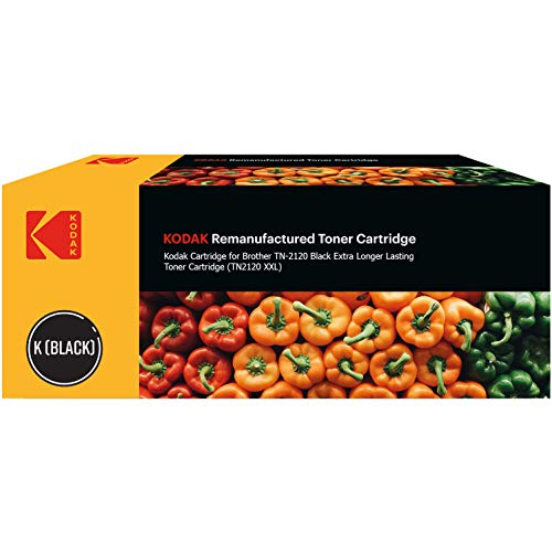 Kodak 185B212030 geschikt voor Brother HL2140 Tonic zwart compatibel met TN2120XL 5200 pagina's