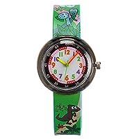 腕時計 キッズ HCGS 女の子はシリコーン プラスチック製の クォーツ時計を見る 小さくて純粋で新鮮なLovelys学生のレジャー子供の腕時計2