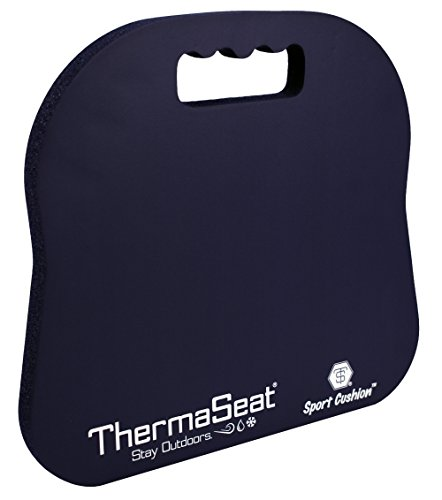 Northeast Products Therm-A-SEAT Sport Cushion Stadium Seat Pad, Navy Blue