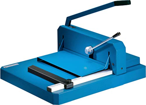 """Dahle 842 Professional Stack Cutter, 200 Sheet Capacity, 16-7/8"""" Cut Length, German Engineered, w/Integrated Safety Features"""