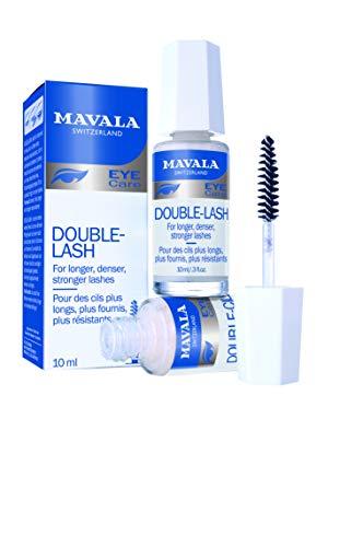 Mavala | Double Lash, Pestañas Tratamiento, Serum para Crecimiento y Volumen de Pestañas y Cejas - 10 ml