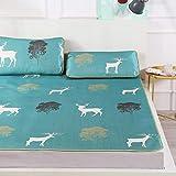 Uxsiya Colchón de verano cómodo y fresco, suave y ligero, que hace que el sueño más fresco para verano (funda de almohada de 150 x 200 cm, 48 x 74 x 2)
