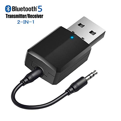 Sale!! iSbeller USB Bluetooth Transmitter Receiver 2 in 1, Bluetooth Adapter for TV PC Headphones Ho...