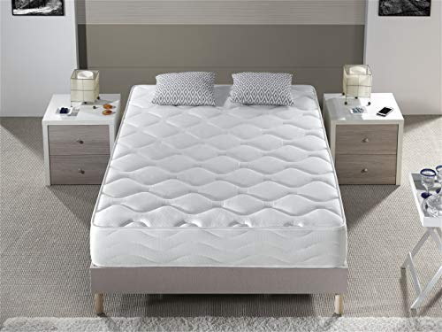 Bellavista Home Mattress Boutique Hotel.Meory Foam (Viscoelastic) & Pocket Spring Mattress (H3, Tight-Top 25 cm)., Memory foam, 160X200 cm.