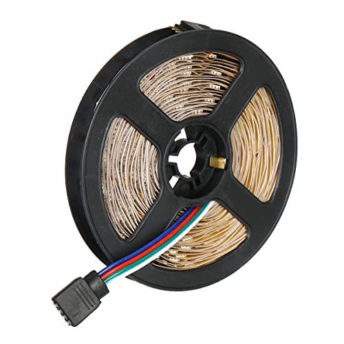 BrightBulb 0.5m / 1m/3m / 5m Impermeable 5050 RGB LED Kit De Luz De Tira Cinta De Cambio De Color Debajo del Gabinete Iluminación De La Cocina - Blanco-3m