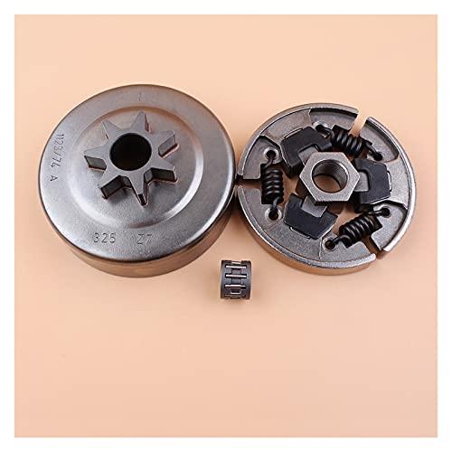 .325'7 Dientes Cadena de tambor de embrague Sprocket Rim Cause Roding Kit para S-TIHL MS250 MS230 MS210 025 023 021 Piezas de motosierra