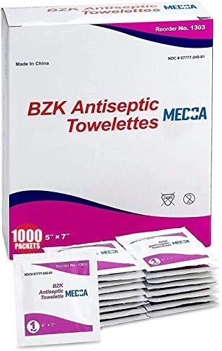 bzk Paquete de toallitas de 1000...