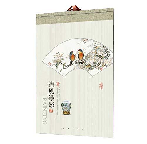 Calendarios de pared para el hogar/hotel/oficina, calendario de características chinas, C05