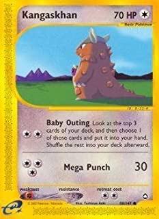 Pokemon - Kangaskhan (88) - Aquapolis - Reverse Holo