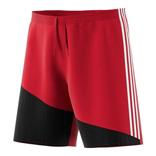 Adidas Regista 16 Mens Soccer Short YL Power Red-White-Black