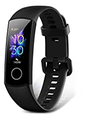 HONOR Band 5 Smartwatch SpO2 (zuurstof) en hartslagmonitor, smartwatch met slaapmonitor, fitnesstracker.