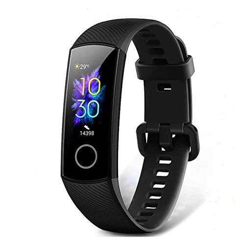 HONOR Band 5 Smart Watch, SpO2 (Saturazione di Ossigeno) e Cardiofrequenzimetro, Braccialetto per attività con Monitor del Sonno, Fitness Tracker Orologio per Uomo Donna,Nero
