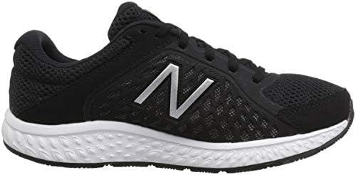 New Balance Women's 420v4 Running Shoe, Black/Silver, 4 UK: Buy ...