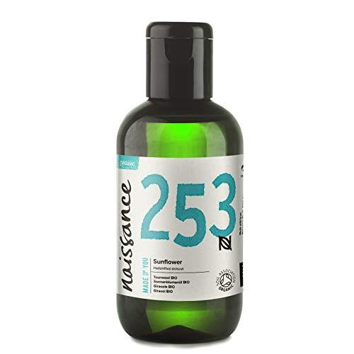 Naissance Huile de Tournesol Certifiée BIO (n° 253) - 100ml - 100% pure et naturelle