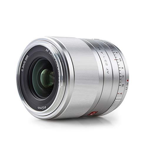 VILTROX AF 56mm F1.4 XF 単焦点レンズ プライムレンズ 富士フイルム Fujifilm Xマウント ミラーレス用 APS-C 大口径 軽量 瞳AF 手ぶれ補正 ポートレートに最適 静止画撮影/動画/風景/建築/夜景 日本語取扱説明書付き X-H1/X-M1/X-T3/X-A20/X-T30/X-T20/X-T200/X-PRO2/X-E3/X-Pro3