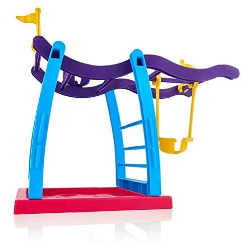 ZYCX123 Pünkelchen Interactive Baby-AFFE-Haustier-Spielzeug Klettern Spielset Klettergerüst Stehen Seesaw Schwingen Set (AFFE ist Nicht enthalten) Haushaltsprodukte
