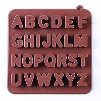 シリコーンレター型、シリコーンキャンディー型、シリコーンベーキング型、キャンディー、グミなどの製造に適したシリコンベーキング金型,Brown