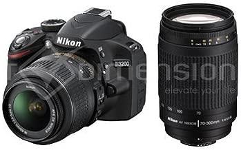 S3324 Nikon D3200 DSLR with 18-55mm VR and AF 70-300mm f4-5.6G Twin Lens Kit. My GN