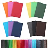 48 Pack Pocket Notebook Set, Colorful Notebooks Bulk Travel Journals Lined Notepad, Soft Cover Mini Memo Notepad, 3.5x5.5 Inches