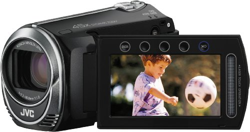 JVC GZ-MS215BEU - Videocámara de 0.8 MP (Pantalla de 2.7', Zoom óptico 45x, Zoom Digital 900x), Color Negro