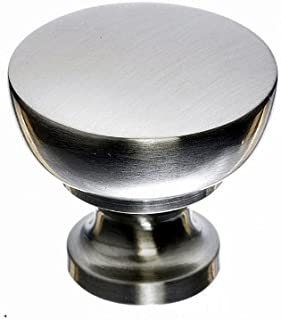 Top Knobs M1119 Asbury Collection 1.25 Inch Bergen Cabinet Knob, Brushed Satin Nickel Finish by Top Knobs