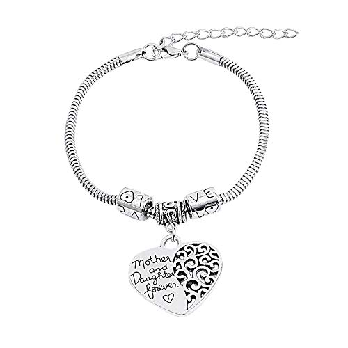 AC1 Family Tree Bangle Bracelet Mom Day Gift and Daughter Forever