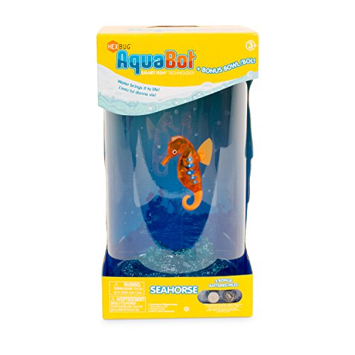 Hexbug 503011 - Aquabot Seahorse with Bowl, Elektronisches Spielzeug
