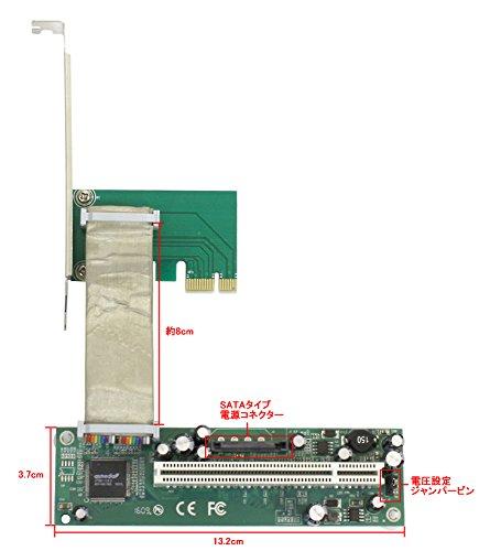 『超人柱第2弾 PCI → PCI-express x1 変換』の2枚目の画像