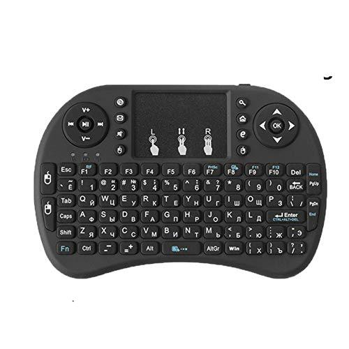 Tastatur I8 2.4g Gamepadpad, Hintergrundbeleuchtung Mini Bluetooth Wireless Mit Tastatur Touchpad Uk Layout Mit Eingebauter Akkutellbarer Akku Für Xbox 360 Für Sony Ps3 Für Android Tv Box Pc
