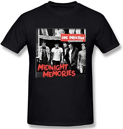 WillieTravis Men's One Direction Midnight Memories Design T Shirt,M