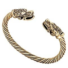 """Made of high quality Iron alloy,eco-friendly material,nickel free ,lead free and cadmium free Diameter 2.76"""",can be adjusted unisex style:fit both men and women,boys and girls Bracelet was well packaged in a branded velvet bag for easy gift-giving"""