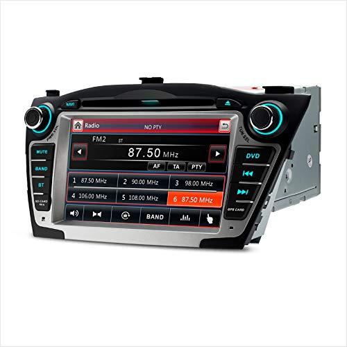 XTRONS 7 Zoll Wince 6.0 2 DIN Kapazitiver Touchscreen GPS Multimedia DVD-Player Autoradio Unterstützung GPS-Navigation Bluetooth-Lenkradsteuerung Für Hyundai IX35/Tucson