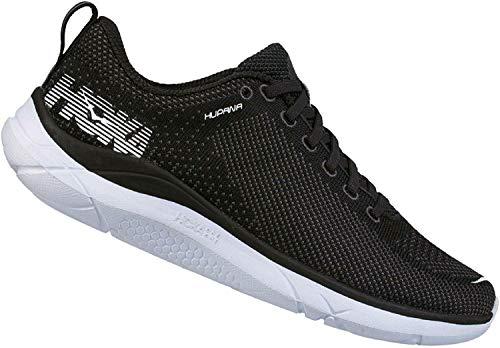 HOKA ONE ONE Mens Hupana Black/Dark Shadow Running Shoe - 10.5
