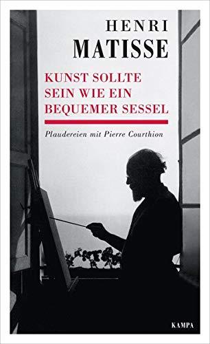 Kunst sollte sein wie ein bequemer Sessel: Plaudereien mit Pierre Courthion (Kampa Salon / Gespräche)
