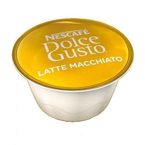 50 x Nescafe Dolce Gusto Latte Milch Kapseln (Pods) Nur