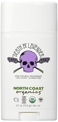 NORTH COAST ORGANICS Death By Lavender Organic Deodorant, 2.5 oz