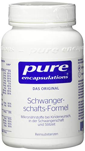 pure encapsulations Schwangerschafts-Formel Kapseln, 60 St. Kapseln