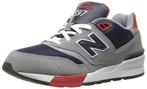 New Balance 597, Zapatillas de Running para Hombre, Gris (Grey/navy), 6.5 D(M)...