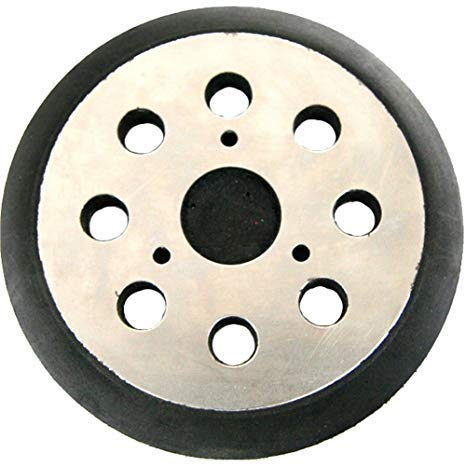 Upgraded Steel Plate 5 Diameter 8 Hole Sander Hook and Loop Orbital Sander Pad Replaces DeWalt OE # 151281-08, RSP26 Compatible with DeWalt, Porter Cable and Black & Decker Tools (1 Pack)
