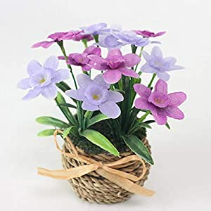 Artificial and Dried Flower Simulation Daffodil Set Artificial Narcissus Flower Silk Flower Plants Wedding Flores Home Decoration